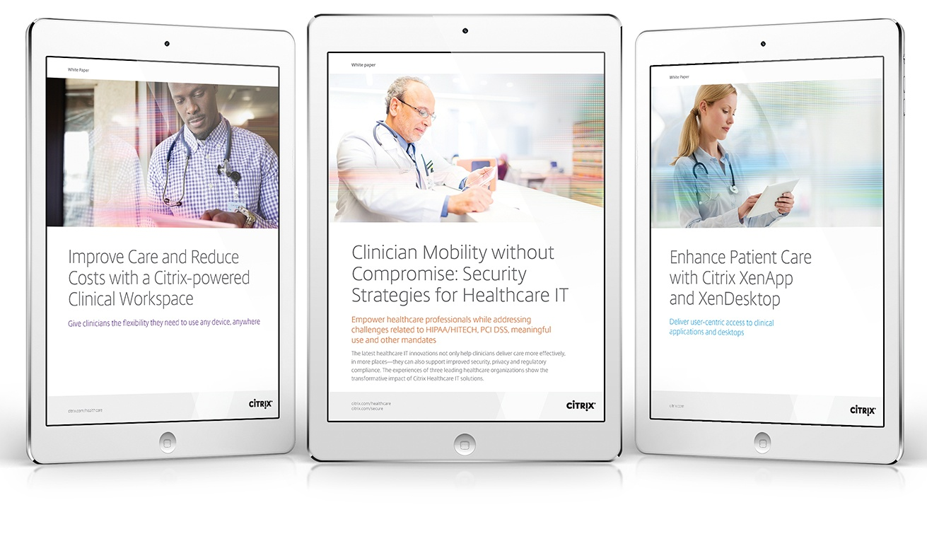 Citrix-Healthcare-Whitepapers