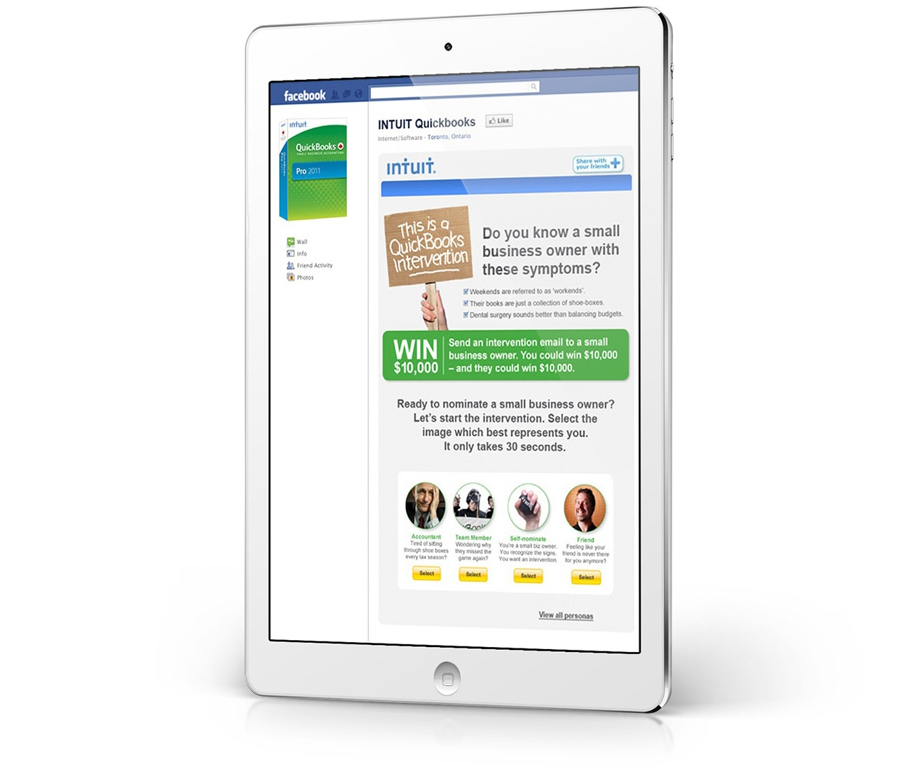 Intuit Facebook Page